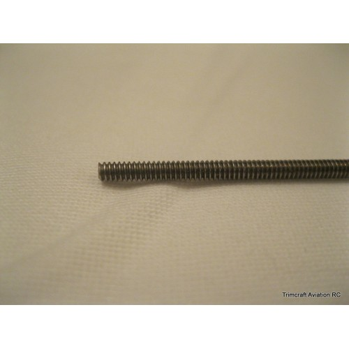 2-56 Stainless Steel Threaded Rod (STR), 12