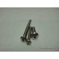 M4 x 16mm BSC, Stainless Steel (25 pcs)