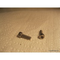 M3 x 10mm Socket Cap Screw, Stainless Steel (25 pcs)