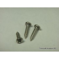 #6 x 1/2in Phillips Pan Head Sheet Metal Screw (25 pcs)
