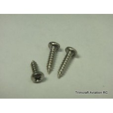 #2 x 1/4in Phillips Pan Head Sheet Metal Screw (25 pcs)