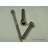 #10-32 x 2 Socket Cap Screw, Stainless Steel (price each)