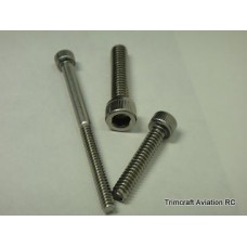 #2-56 x 5/8in Socket Cap Screw, Stainless Steel (25 pcs)