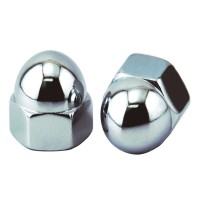 M5 Acorn Cap Nut, Stainless Steel (6 pcs)